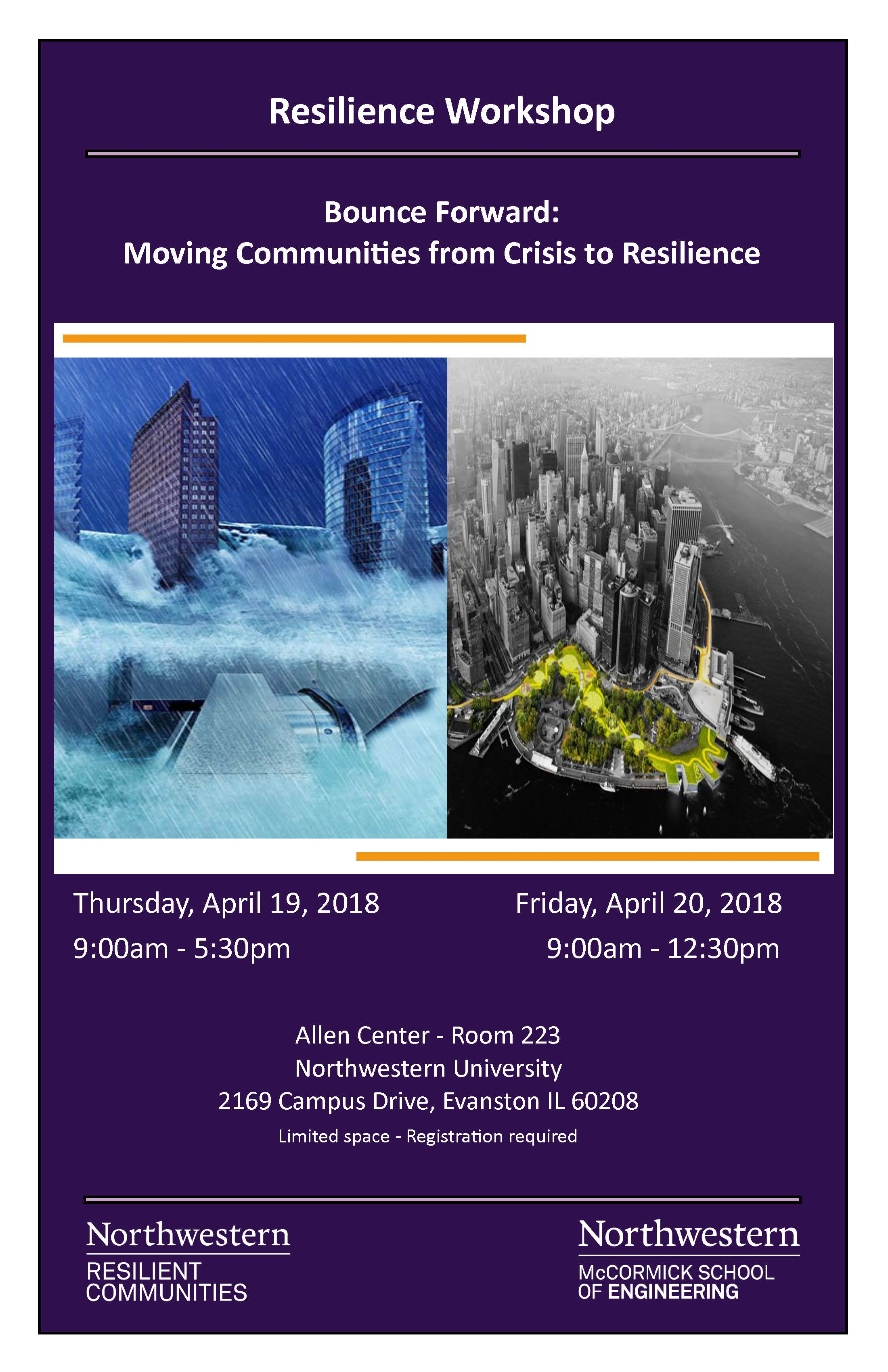 Resilience Workshop Bounce Forward: Moving Communities from Crisis to Resilience | News | Civil ...