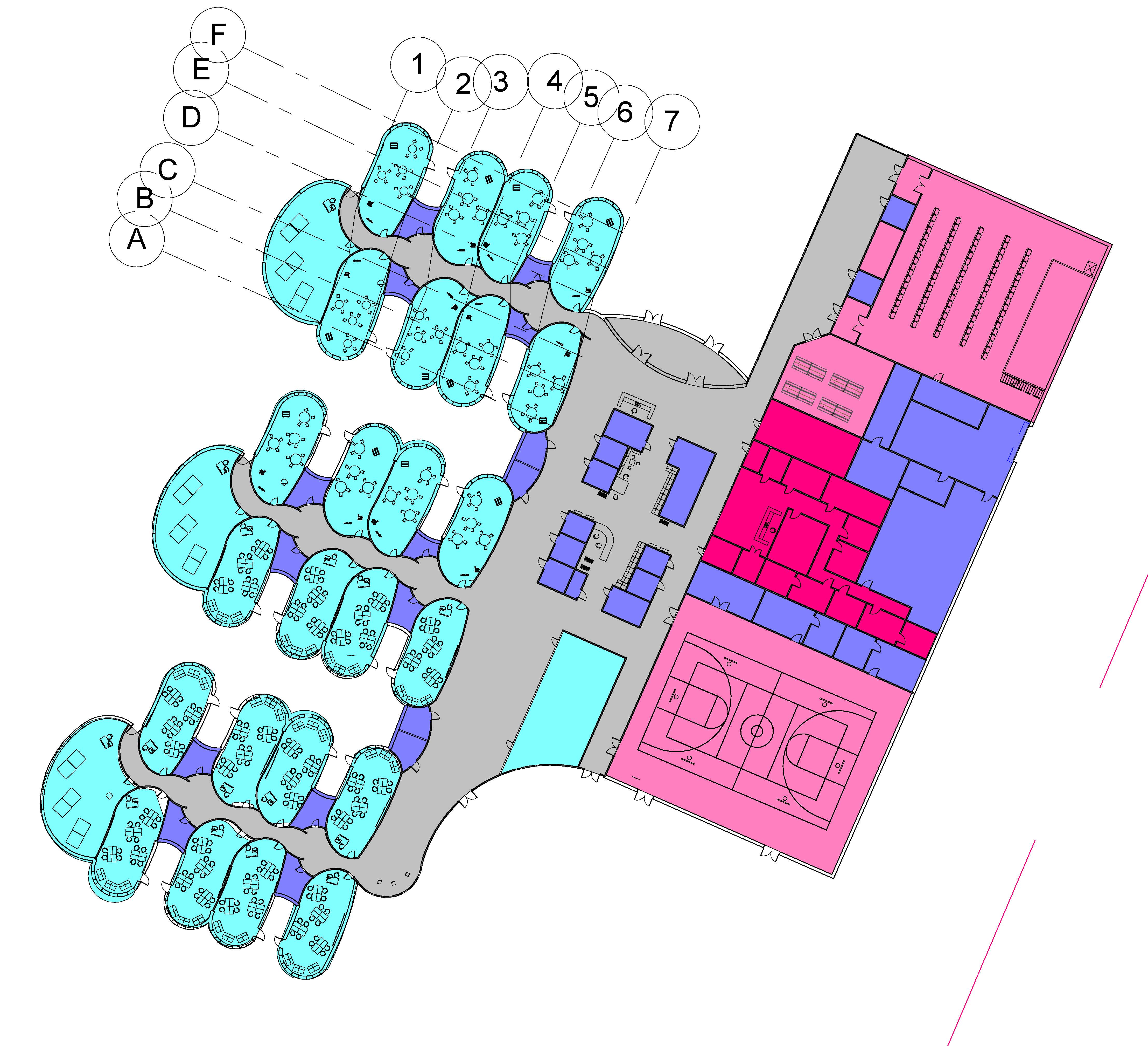 architectural engineering design.  Architectural Jovana Crnomarkovic A 2017 BS Graduate In Civil Engineering With Focus  Structure And Architecture Designed This K8 School For Her CIV_ENV 3852  And Architectural Engineering Design C