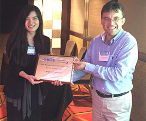 Chang Liu & Matthew Andrews, IEEE SDP Workshop Chair.