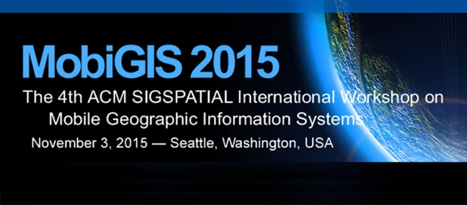 4th International ACM SIGSPATIAL workshop on Mobile Geographic Information Systems