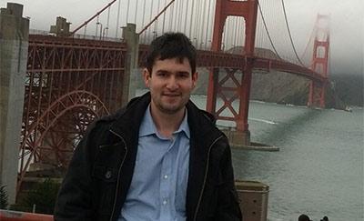 SPIE Travel Grant Recipient Iman Hassani Nia in San Francisco, CA