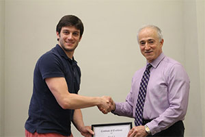 2015 EECS Best TA Award Winner Josh Yablon