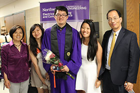 Kevin Chen & family