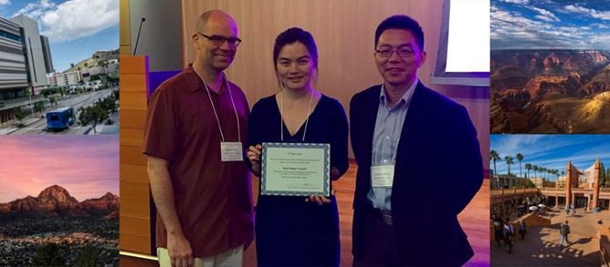 Prof. Randall Berry, Chang Liu, & Junshan Zhang (Workshop General Chair)
