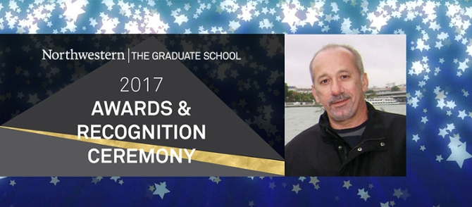 Goce Trajcevski Selected for 2017 Graduate School Service Award
