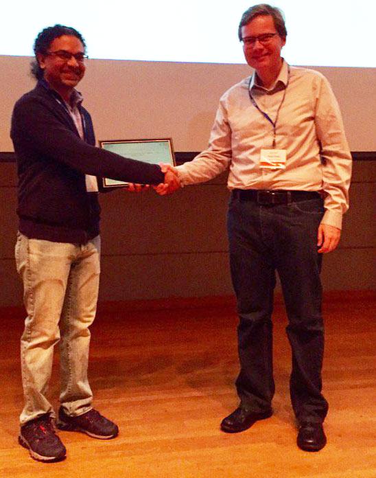 Prof. Peter Dinda Accepts Best Paper Award