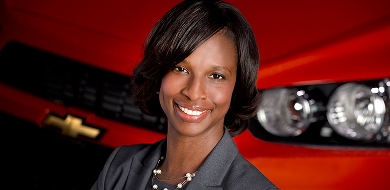 McCormick alumni join a global network of whole-brain engineers. Pictured, Alicia Boler-Davis ('91), SVP at General Motors.