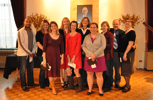 Staff honored for five years of service
