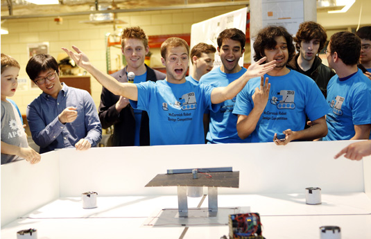 'Aperture Robotics' Takes First Place in Student Robotics Competition