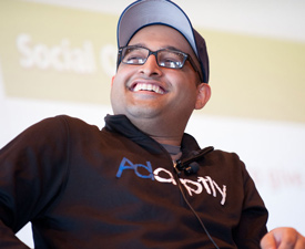 Adaptly co-founder Nikhil Sethi (McCormick '10)