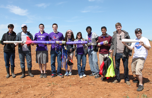 Northwestern Student Group Breaks Record with Rocket Launch