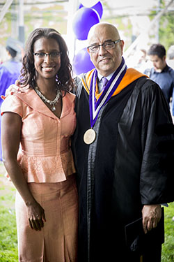 Alicia Boler-Davis and Dean Julio M. Ottino