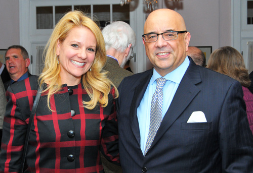 Gwynne Shotwell and Dean Julio M. Ottino