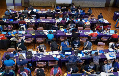 More than 400 college students from across the United States participated in the 24-hour Wildhacks hackathon.