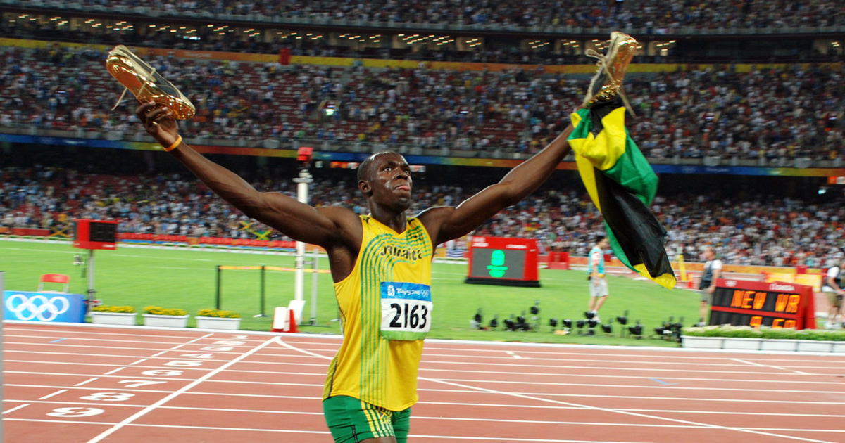 How Long Will it Take to Break Usain Bolt's 100-meter Dash Record