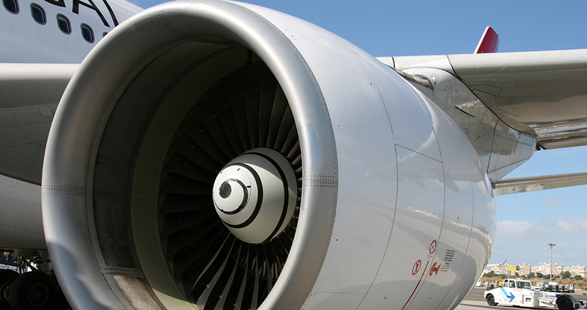 Mechanical engineering students designed a smarter way to inspect airplane turbine engines.
