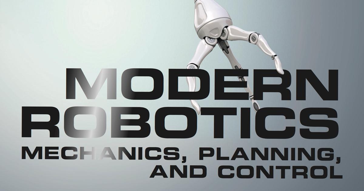 new textbook examines modern robotics