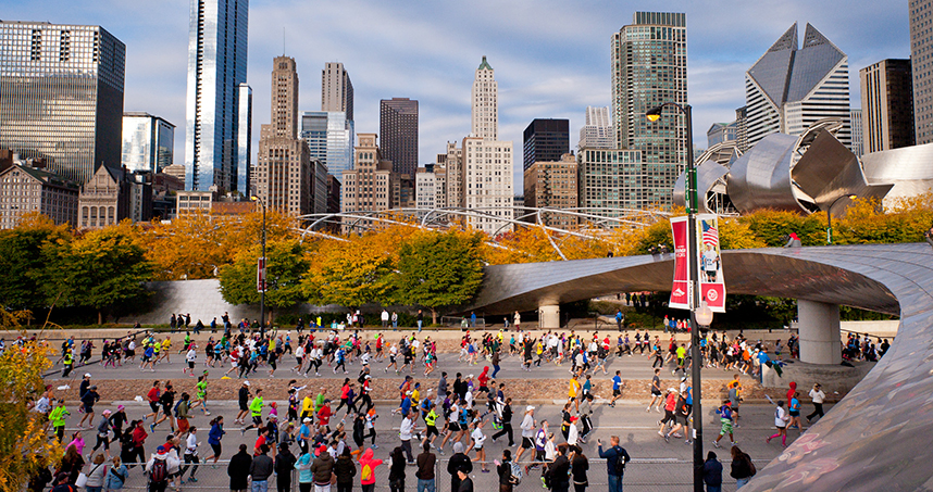 More than 50,000 runners are registered to participate in this Sunday's Bank of America Chicago Marathon.