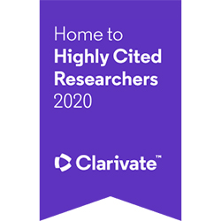 Highly Cited Researchers 2020 ribbon