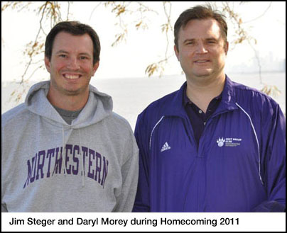 Steger and Morey