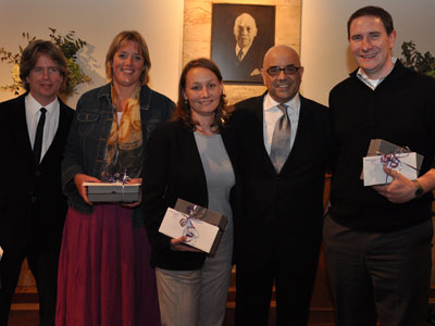 Staff honored for five years