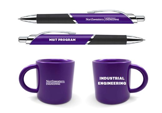 Visit the Norris Center Bookstore to purchase Northwestern Engineering merchandise